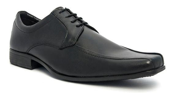 Sapato Social Masculino Pé De Ferro Em Couro Legítimo 3010