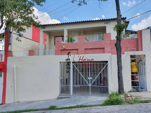 Imagem 1 de 1 de Sobrado Com 2 Dormitórios À Venda, 104 M² Por R$ 630.000,00 - Vila Miriam - São Paulo/sp - So0978
