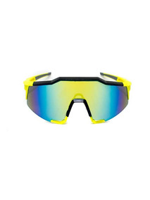Lente Deportivo De Pasta Color Amarillo, Glasses G3, Bp0128