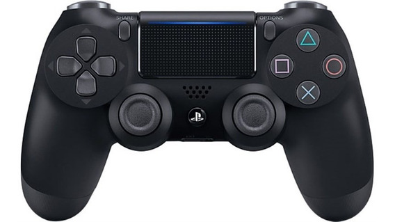 Joystick Ps4 Dualshock4 10039 Negro Sony Playstation