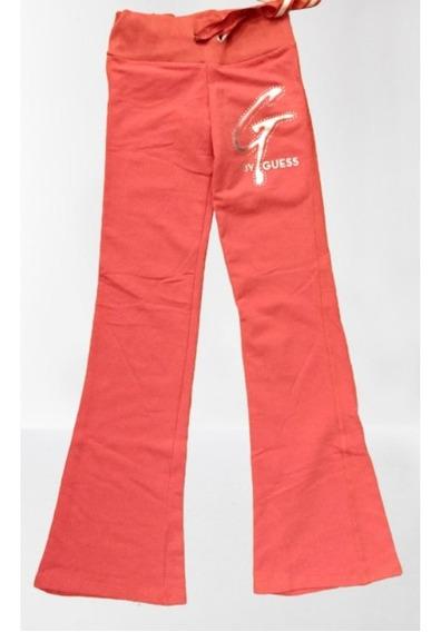 Pantalón De Frisa Color Salmón - Marca Guess - Original