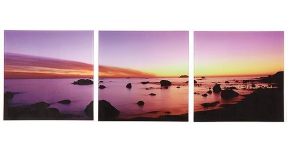 Conjunto 3 Quadros Sunset
