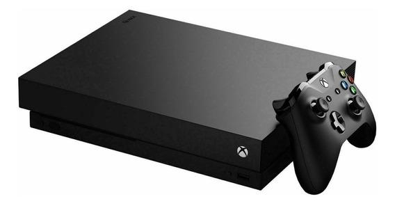 Microsoft Xbox One X 1TB Forza Horizon 4/Forza Motorsport 7 preto