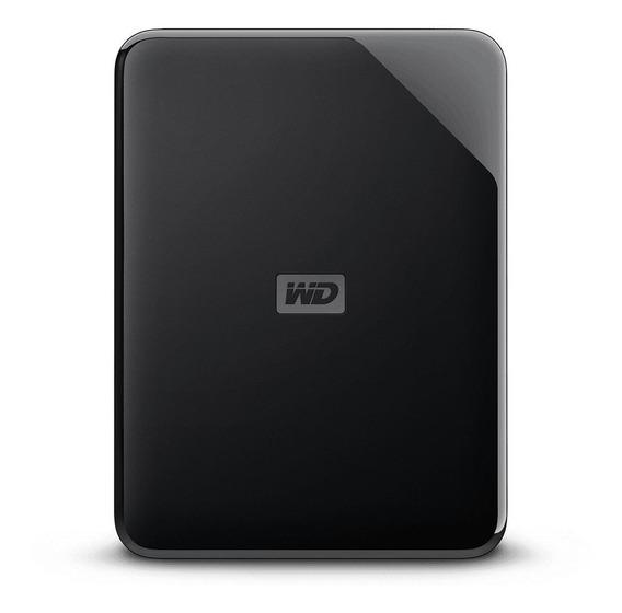 Disco rígido externo Western Digital WD Elements SE WDBJRT0020BBK 2TB