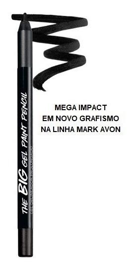 Avon Mark Gel Delineador Prolongado 1,2g Preto