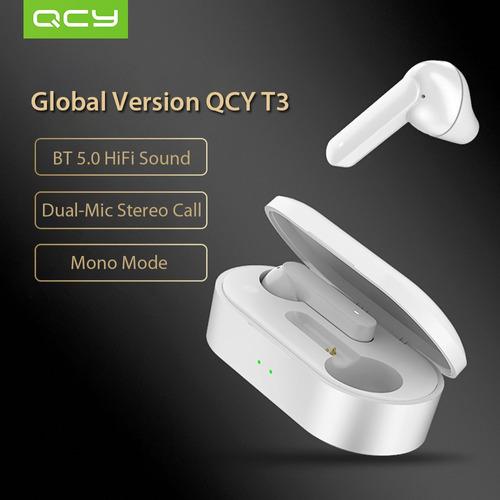 Versão Global Xiaomi Qcy T3 Bt Sem Fio Tws Fones De Ouvido B