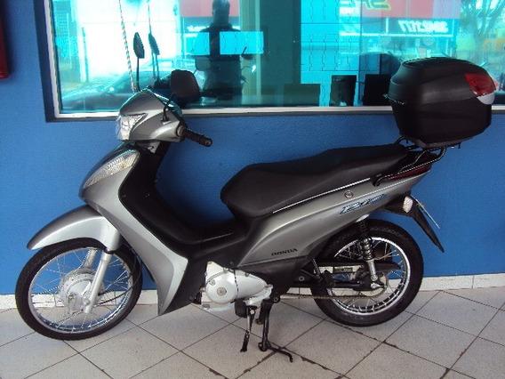Honda Biz 125 Es Cinza 2012