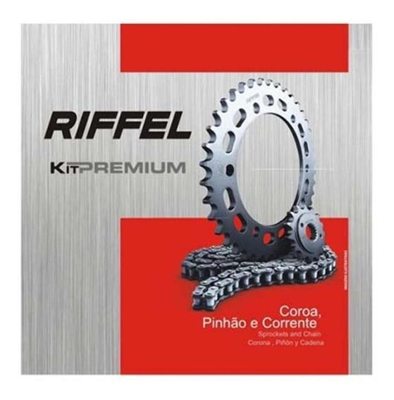 Kit Relação Yamaha Crypton 115 Riffel Premium