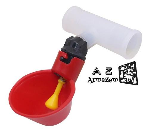 5 -bebedouros Automático Tipo Niple Com Copinho E Adaptador.