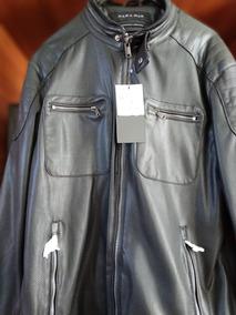 Chompa Para Moto De Cuero Zara Talla Xl