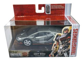 Transformers Hot Rod Lamborghini Metal Die Cast Jada