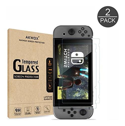 Protector De Visualización De Vidrio Templado Para Nintendo