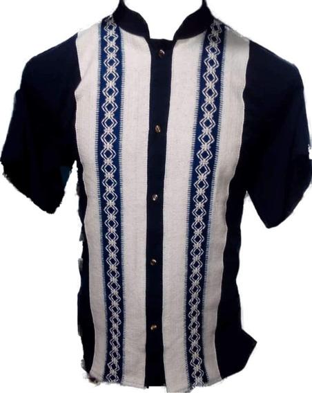 6 Camisas Guayaneraa Artesanales. Cuello Mao.