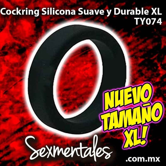 Cockring Anillo Silicon Sexmentales Ty074