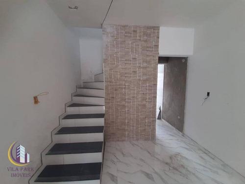 Sobrado Com 3 Dormitórios À Venda, 100 M² Por R$ 450.000,00 - Jaguaribe - Osasco/sp - So0572
