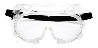 Lentes Goggles Pyramex Químico Splash Proteccion Seguridad