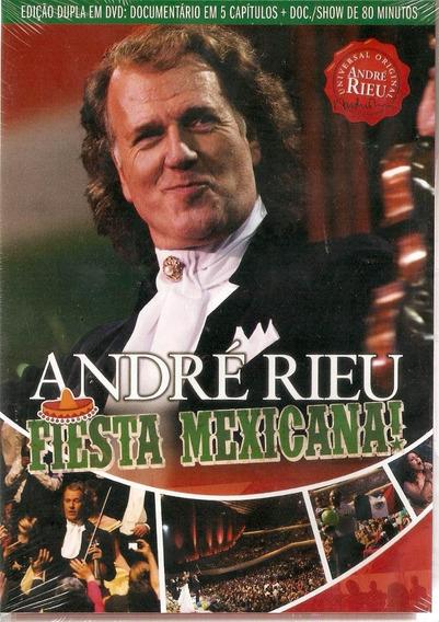 Dvd Duplo André Rieu - Fiesta Mexicana - Novo***