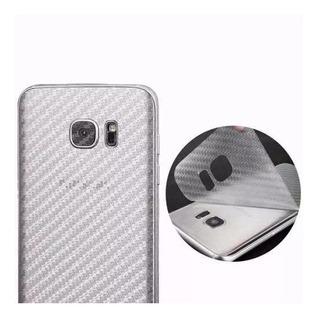 Pelicula Adesiva Traseira Skin Fibra Carbono Samsung Galaxy