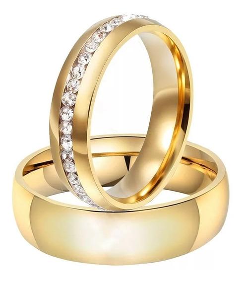 Alianças Anel De Casamento Compromisso 6mm Barato + Brinde