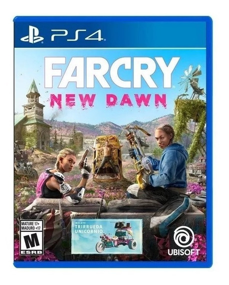 Far Cry New Dawn Ps4 Juego Físico Sellado Español Latino