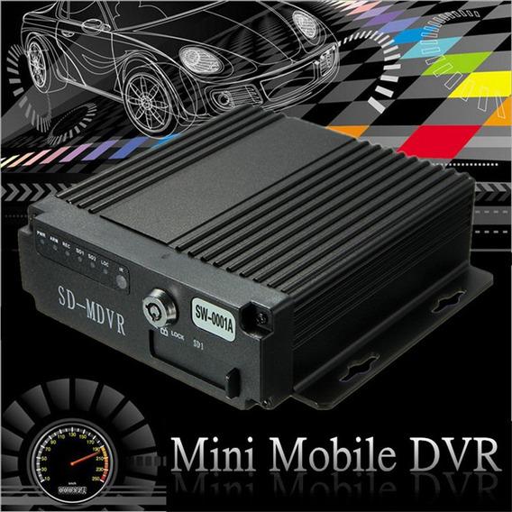 4ch Coche Vehículo Ahd Móvil Dvr Grabadora De Vídeo/audio Ta