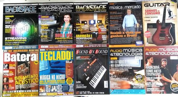 Revista Backstage Audio Musica Tecnologia Sound On Teclado