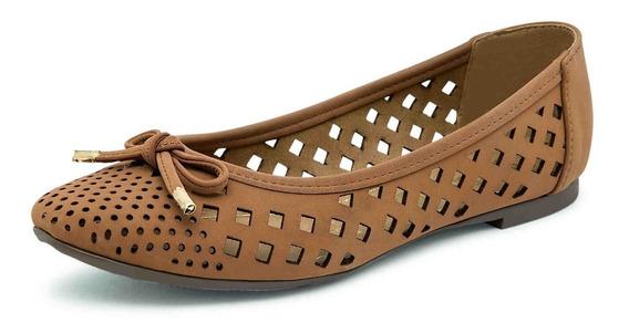 Zapato Casual De Moda Para Dama Color Camel