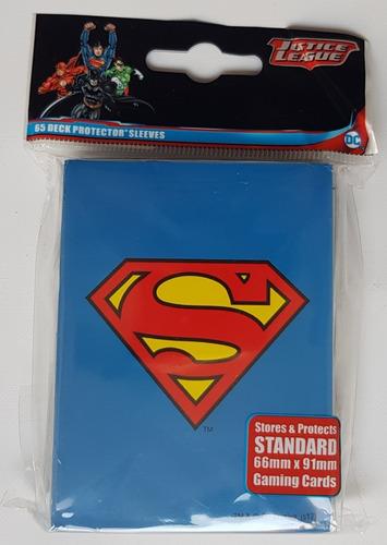 Ultra Pro Micas Standard De Justice League: Superman Nuevas!