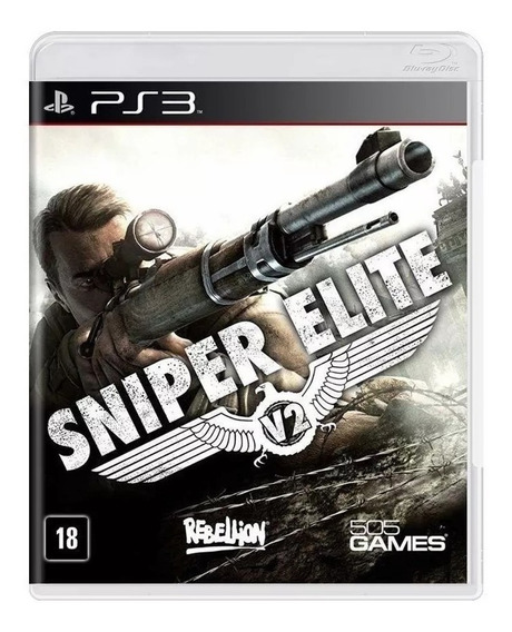 Sniper Elite V2 Ps3 Mídia Física Lacrado Novo Rj