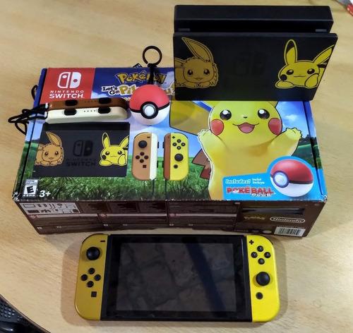 Nintendo Switch Completa / Pikachu & Eeve / Triforcegameshop