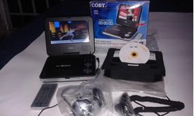 Dvd Coby Tela7 Pol Portable Completíssimo + Brinde 10 Dvds
