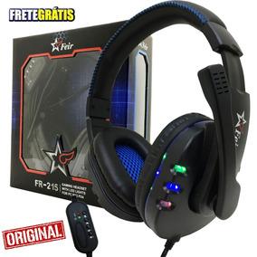 Fone Ouvido Gamer Headset Microfone Profissional Pc Xbox Ps4