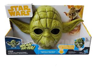 Star Wars Mascara Eletronica Yoda Hasbro