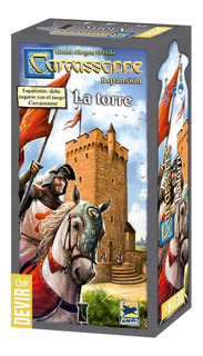 Juego De Mesa Carcassonne Expansion La Torre Devir Oficial