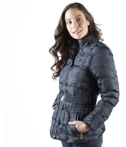 Chamarra Mujer Greenlander Cap6396 Gorro Y Fur Desmontable
