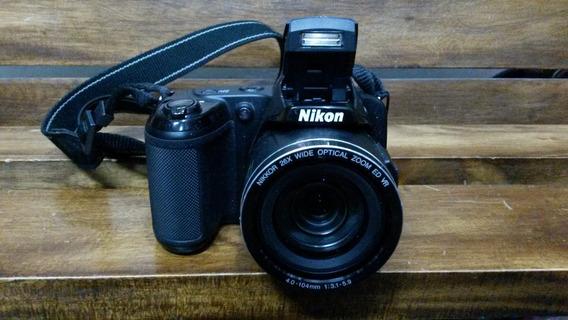 Camara Semiprofesional Nikon L810 16 Mp,26x Como Nueva