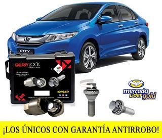 Birlos De Seguridad Honda City Lx Mt 17-18 Galaxylock Envió