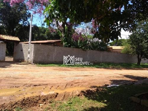 Chácara Com 2 Dormitórios À Venda, 1300 M² Por R$ 420.000 - Bosque Dos Eucaliptos - Araçoiaba Da Serra/sp - Ch0021
