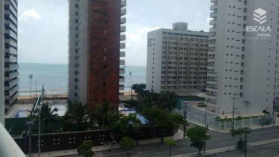Apartamento Loft Com 1 Quarto À Venda, 64 M², Vista Mar, Móveis Projetados.- Meireles - Fortaleza/ce - Ap0865