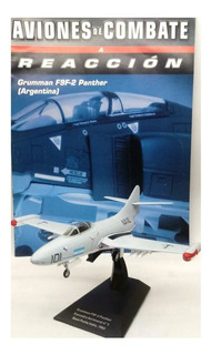 Aviones De Combate Nº 14 Grumman F9f-2 Panther