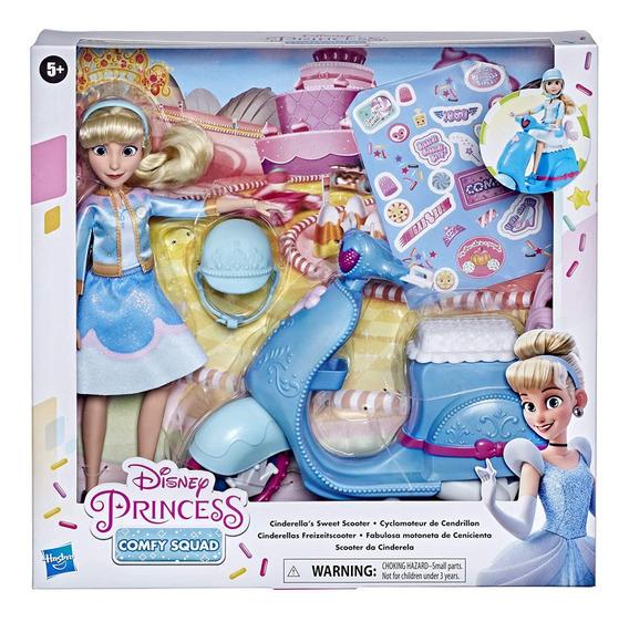 Veiculo E Boneca Disney Princesa Comfy Cinderela