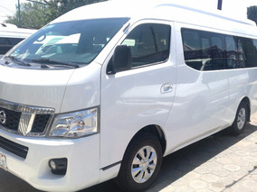 Nissan Urvan Nv350 15 Pasajeros Doble Clima Factura Original