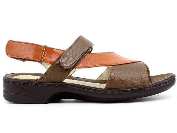 Sandália Senhora Opananken 72823 Coral Pixolé Calçados