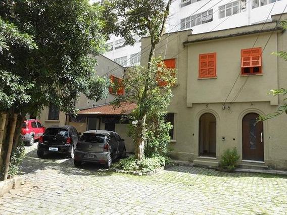 Casa Sobrado Comercial De Vila Fechada Para Locação, Higienópolis, São Paulo - Ca0526. - Ca0526