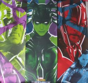 Tfgo - Kit 3 Posters Thor Ragnarok - Omelete Box (tfgo)