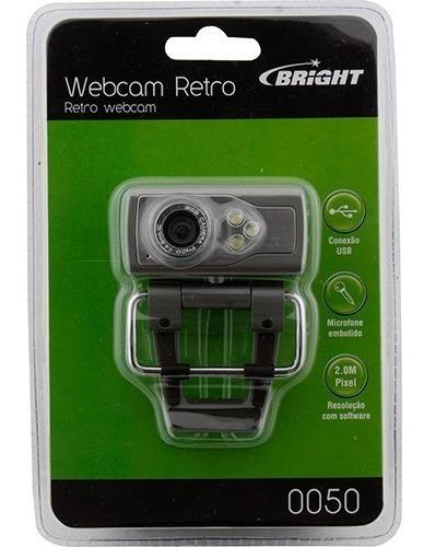 Webcam Bright 2,0 Com Luz