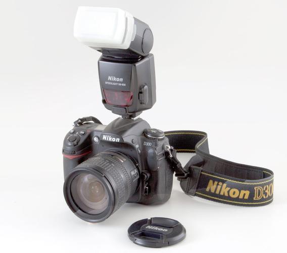 Câmera Fotografica Nicom D 300 Com Flash E Acessorios