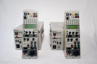 Sony Controu Unit Modelo Ccu-tx7 + Remote Control Rcp-tx7
