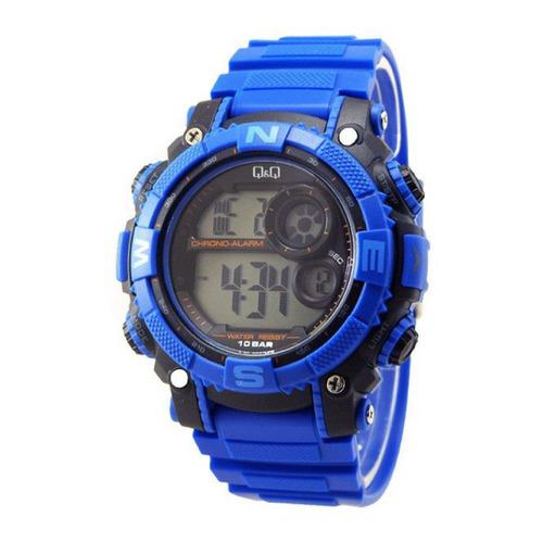 Reloj Q&q M133j813y Azul Hombre