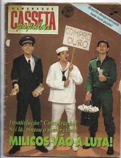 Revista Casseta Planeta Popular Nº 15- À Luta ( Sátira-1988)